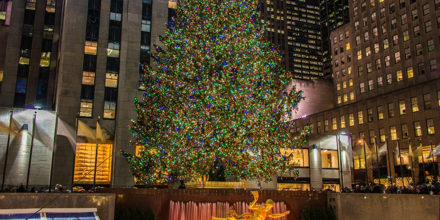 Rockefeller Center in dicembre